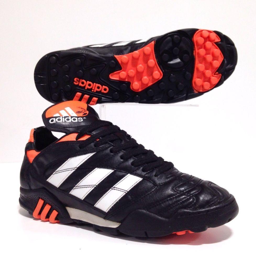 8b9cbf7b208e adidas Predator mens Football Trainers sz 10.5 Vintage Athens Liga US 11 45  1/3