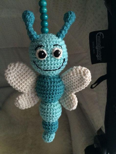 Schmetterling,Insekt, Häkeln,Anleitung, Kostenlos, | Crochet ...