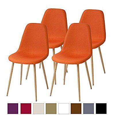 Chaises de sale à manger Albatros rétro FANO Lot de 4 chaises