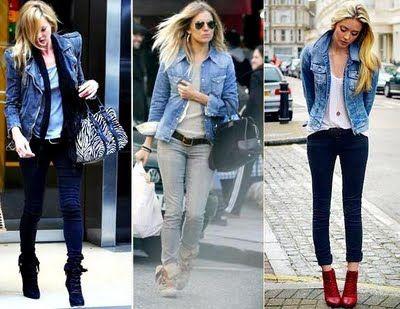 jaqueta jeans adoooro
