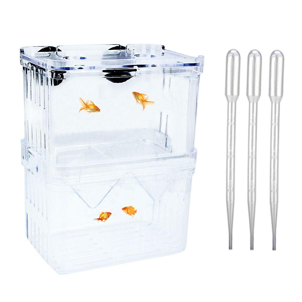 Plastic Fish Breeding Box Fish Breeding Baby Fish Aquarium Accessories