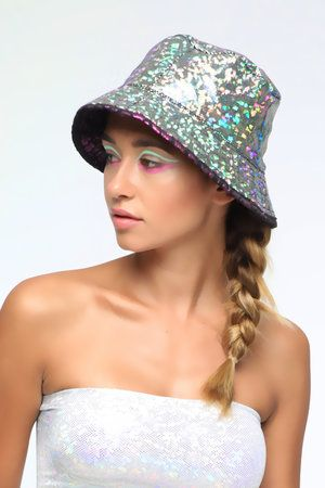c18c9cc6b3e Holographic Reversible Bucket Hat