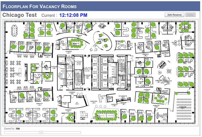 Interactive floor maps or person finders. Develop a tool that looks at AD or another Database to view a persons location by floor or section on iPads located throughout the office or on the intra site.