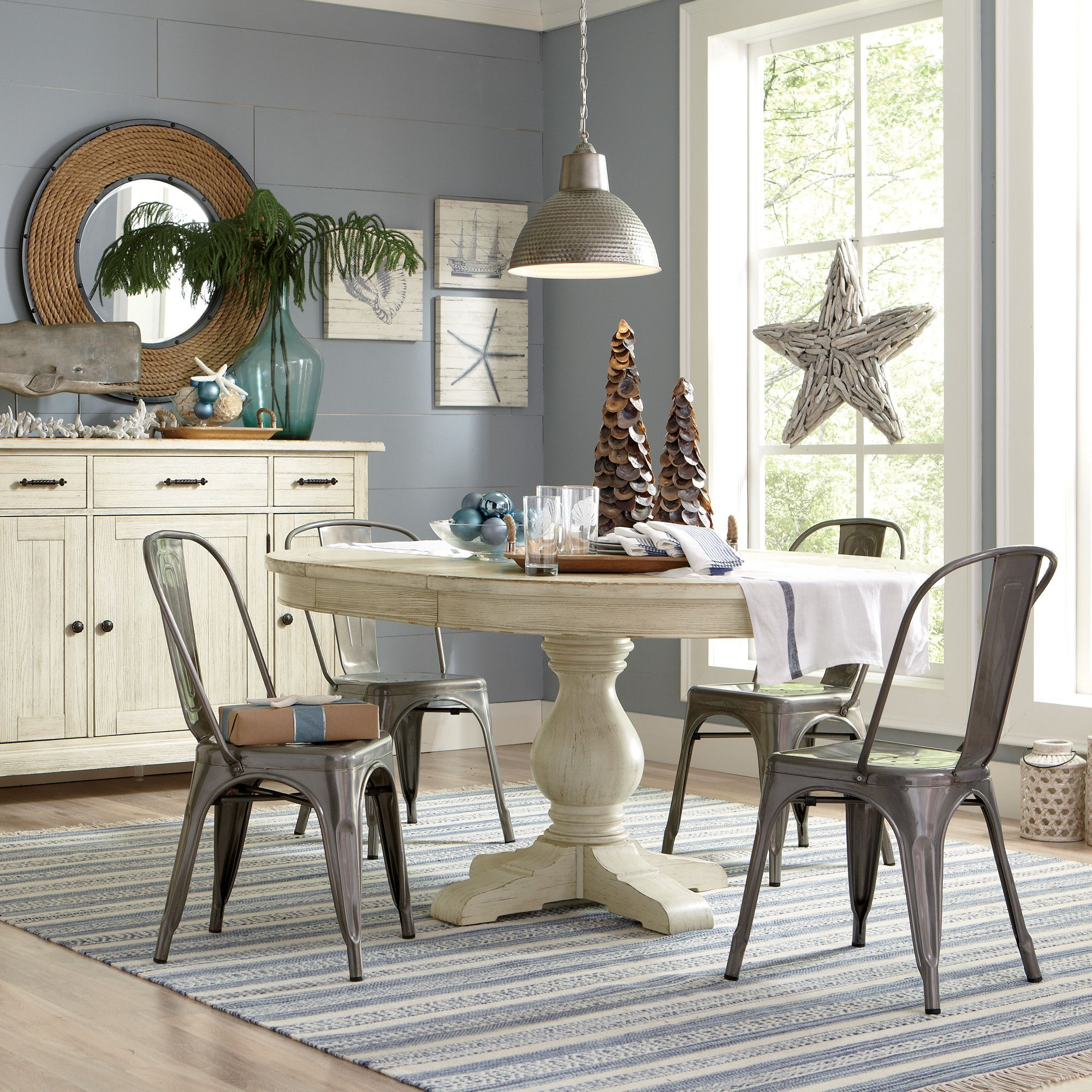Room · Birch Lane Clearbrook Round Extending Dining Table ...