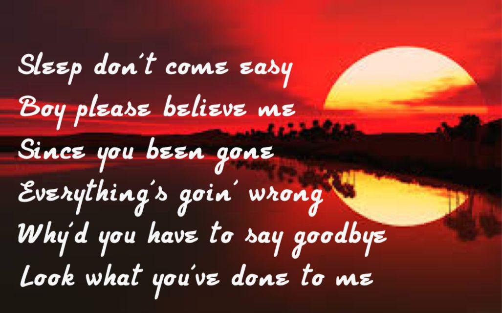 Im going down lyrics