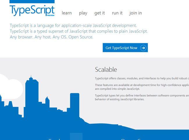 microsoft introduces typescript programming language video