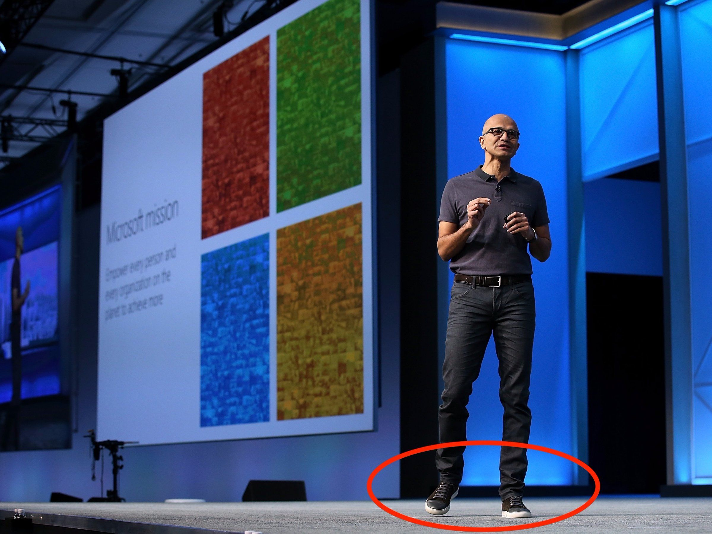 Shoes worn by tech execs are a Silicon Valley status symbol
