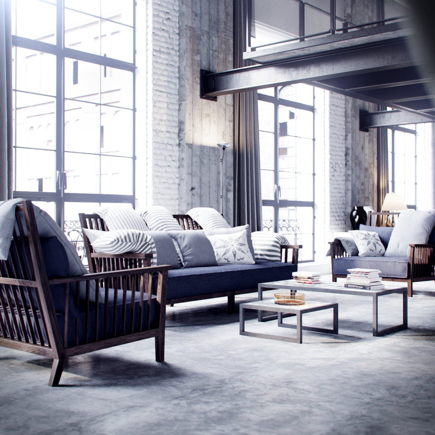 J3dsn remake corona loft by bbb3viz by me 3ds max for Architecture 3ds max