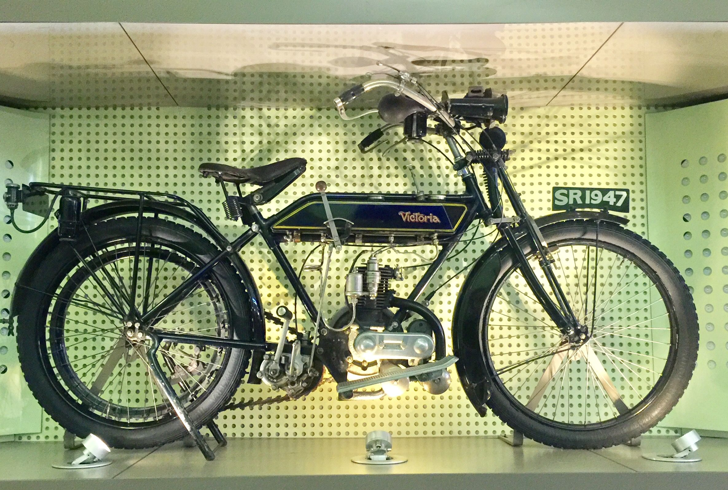 1922 Victoria Motorcycle With Villers Engine Motorised Bicycle