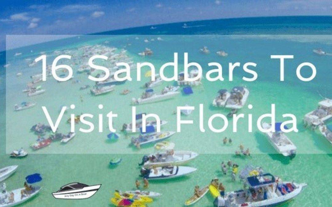 16 sandbars to visit in florida sandbar florida