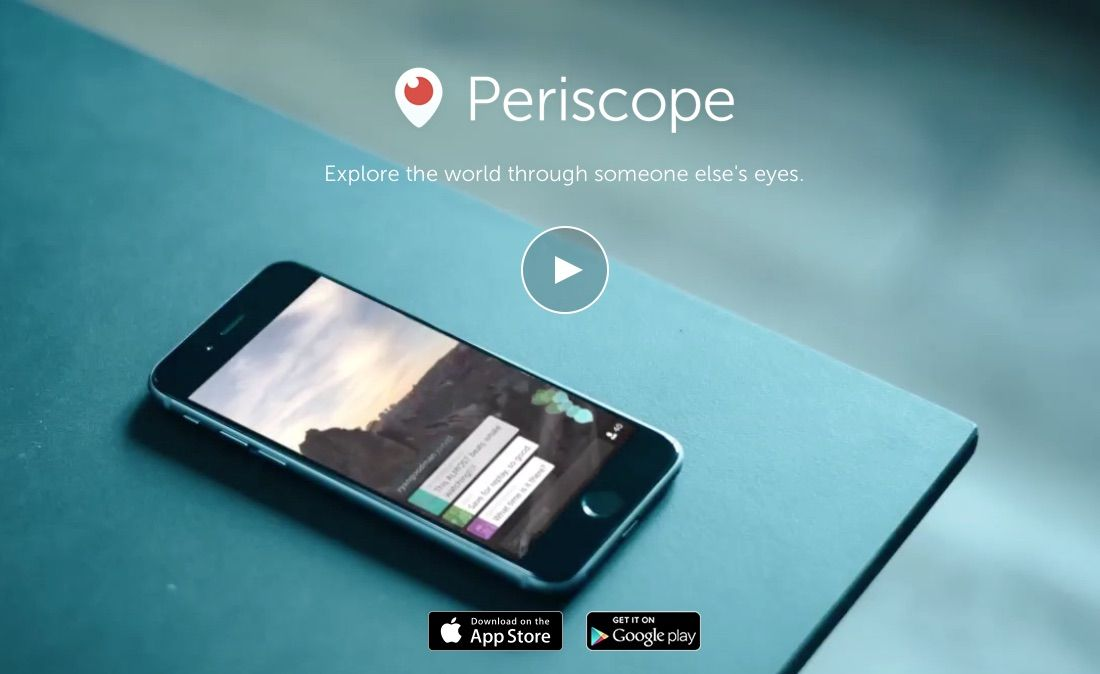 Periscope is down worldwide : App goes dark on iOS and Android