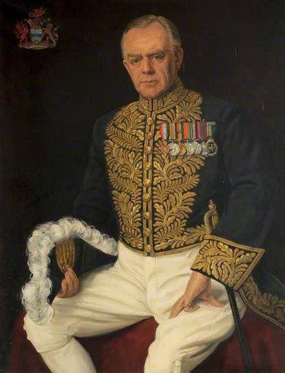 Portrait of Lord Gwilym Lloyd George (1894–1967), Lord Tenby by Margaret Lindsay Williams (British 1888–1960)