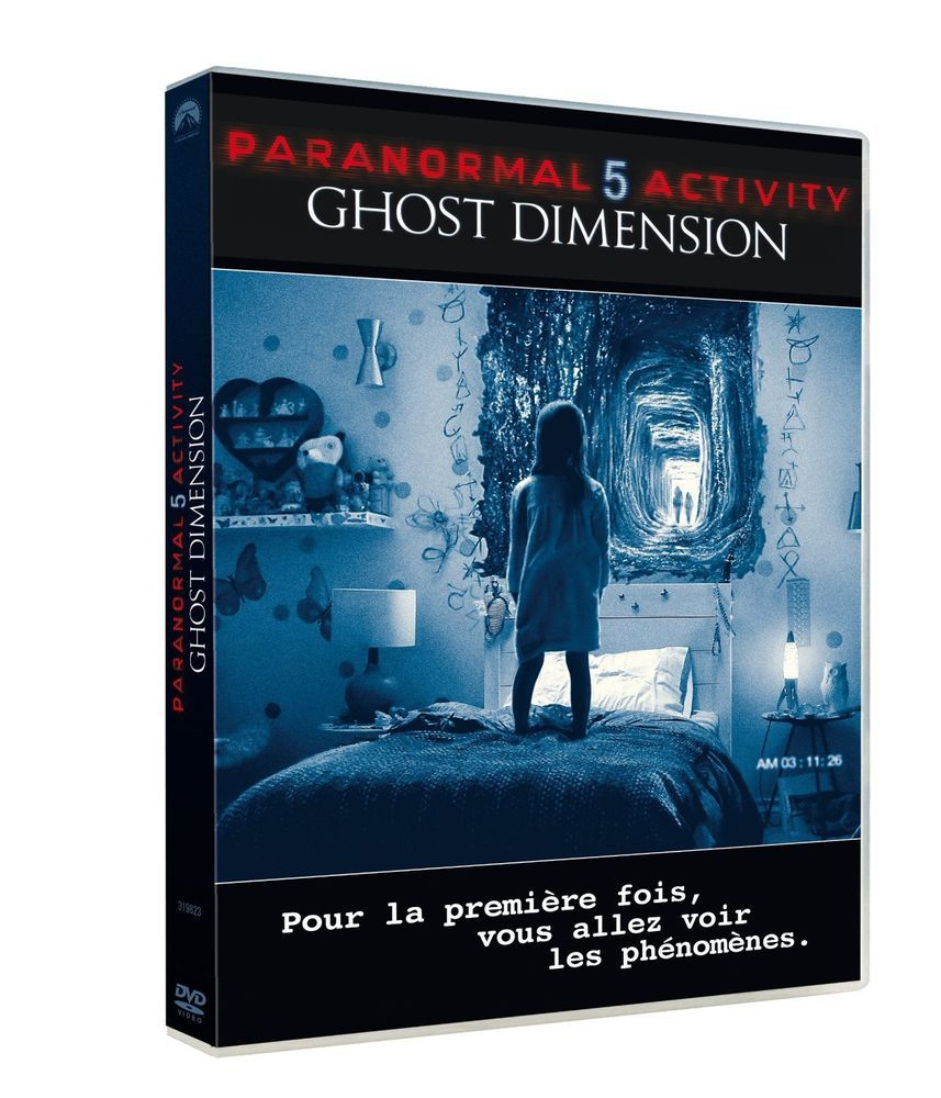 Paranormal Activity 5 Ghost Dimension (2015) DVD