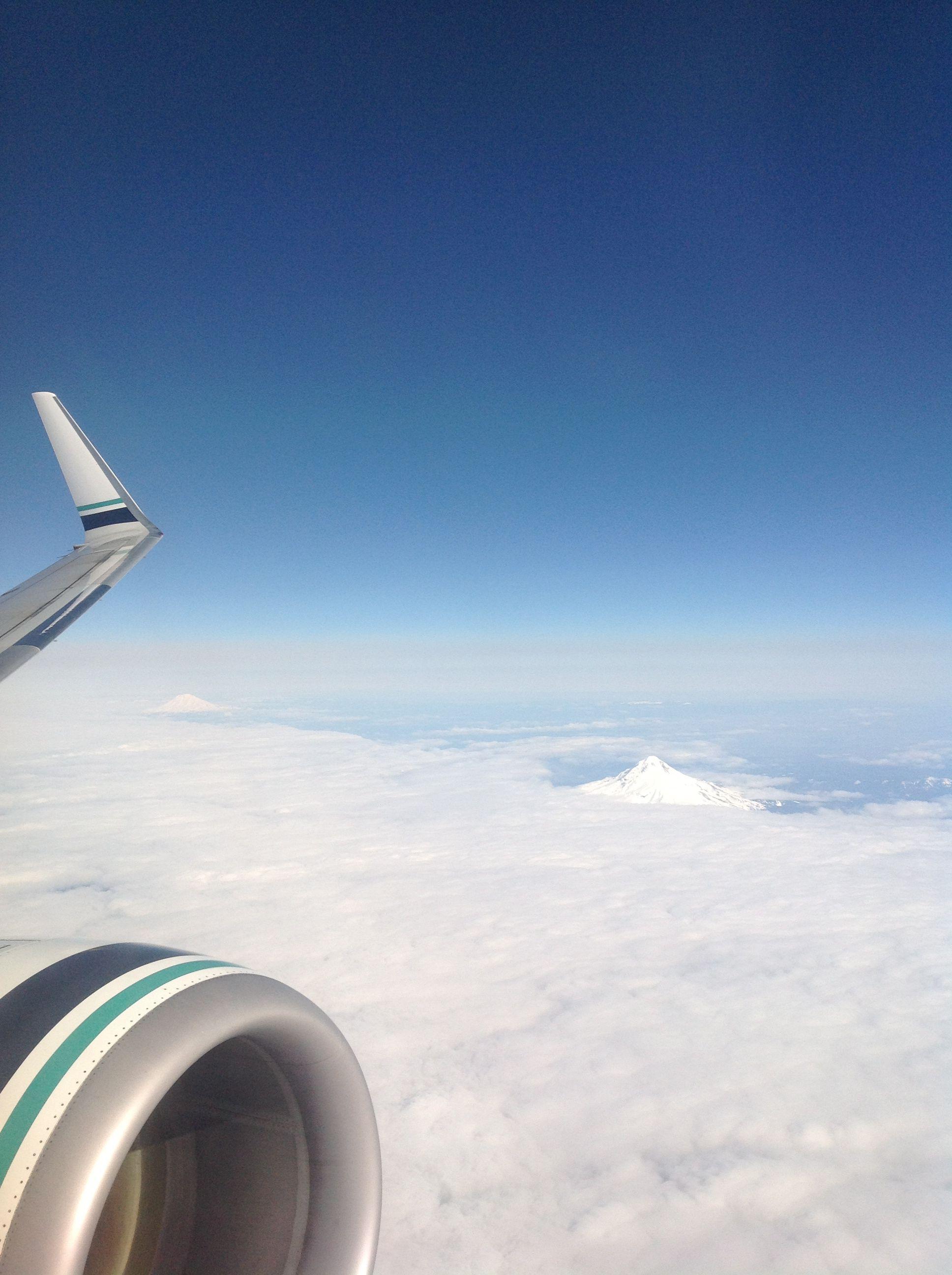 Mount hood sky