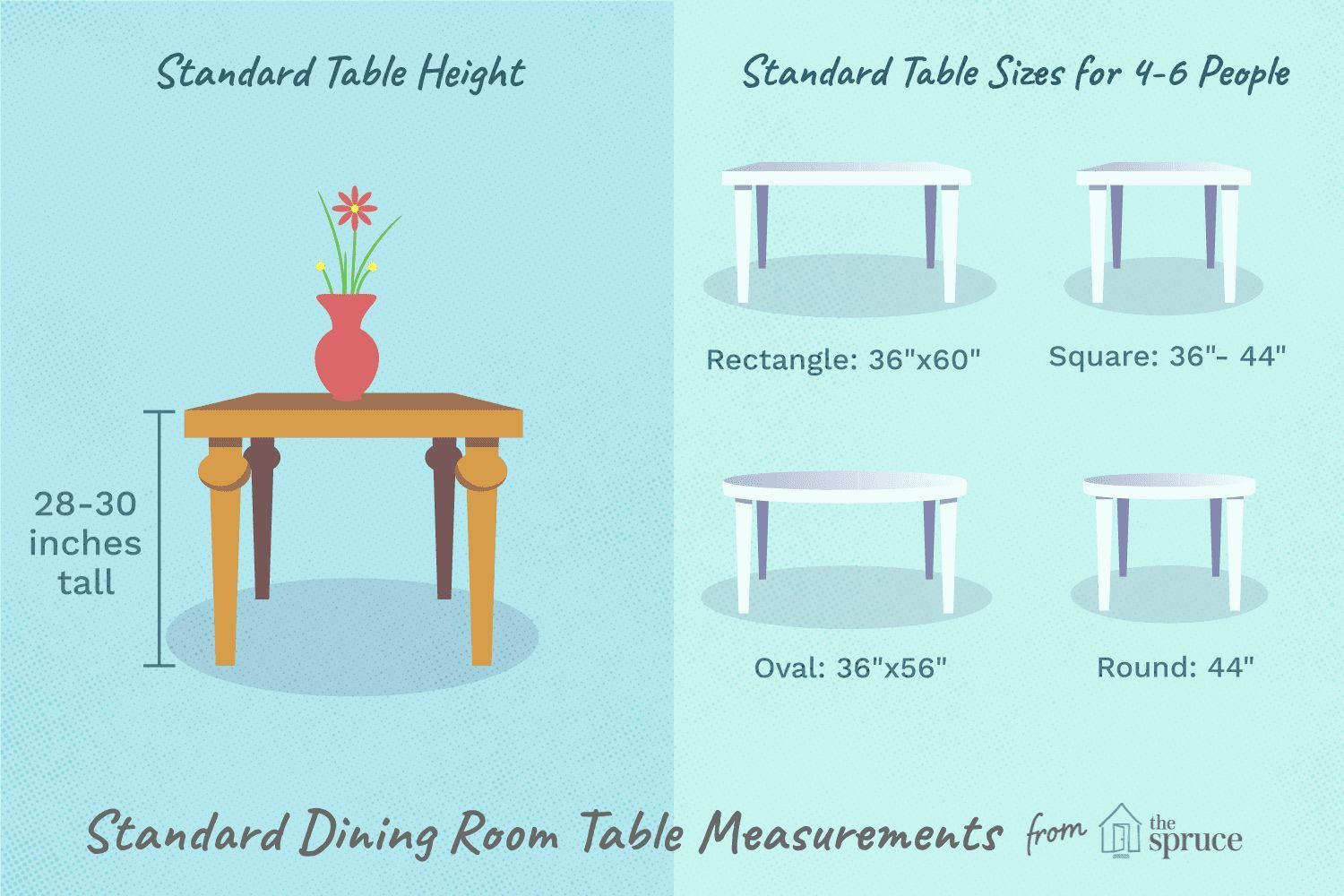 Standard Dining Room Table Sizes Luxury Standard Dining Table
