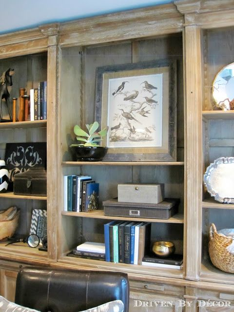 Driven By Décor bookshelf display