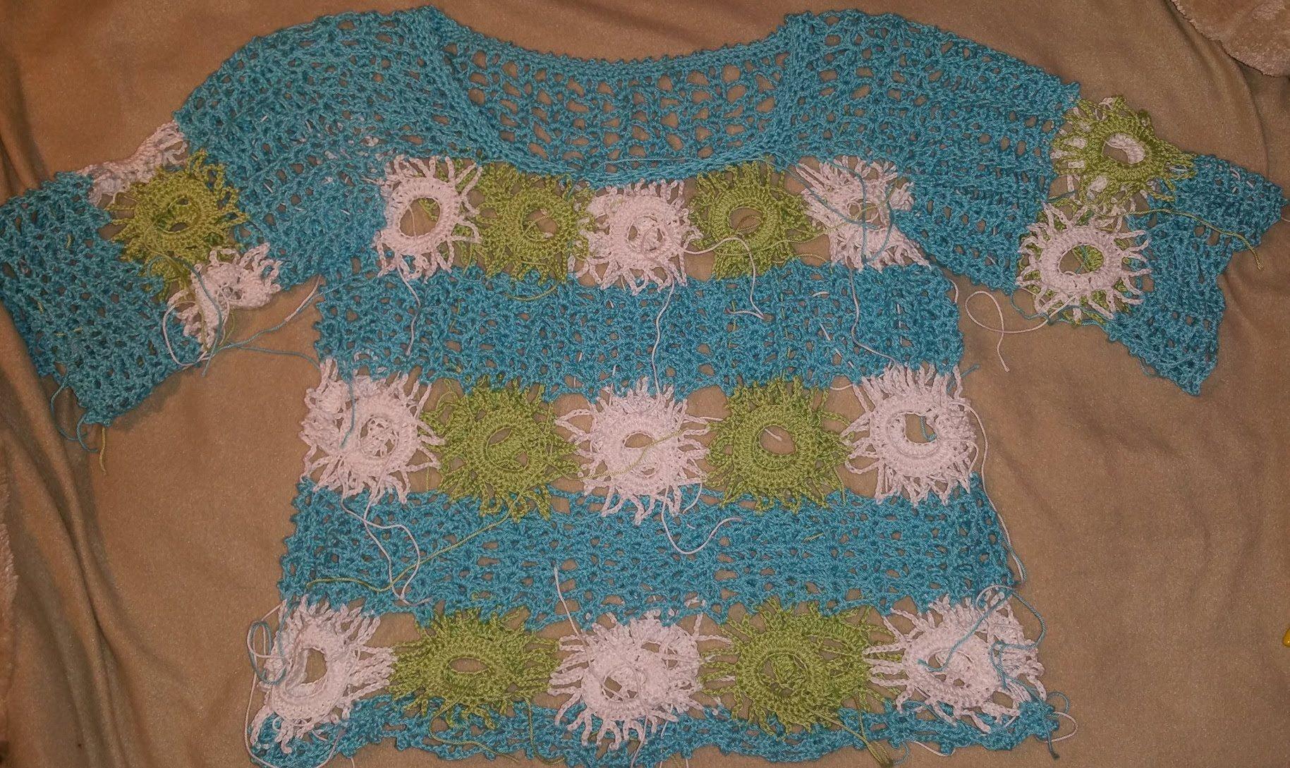 Sommershirt Claudia Filli Crochet Granny Häkeln Mit Yve Videa