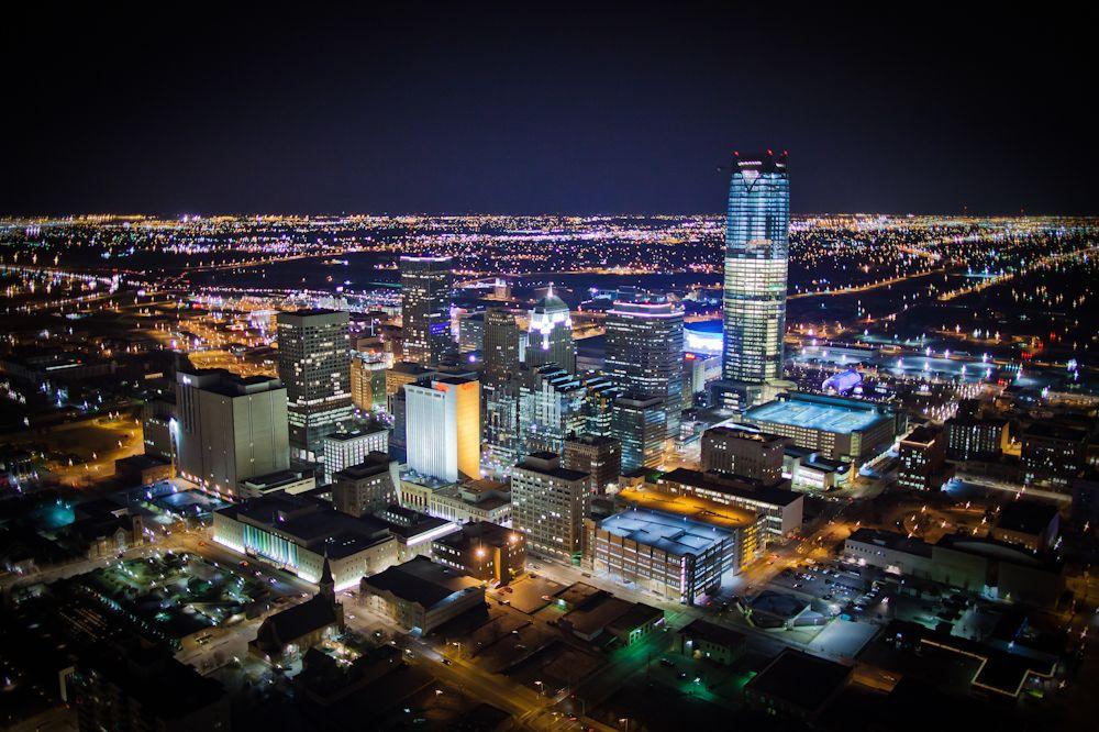 Oklahoma City skyline | Skylines | Pinterest | Oklahoma ...