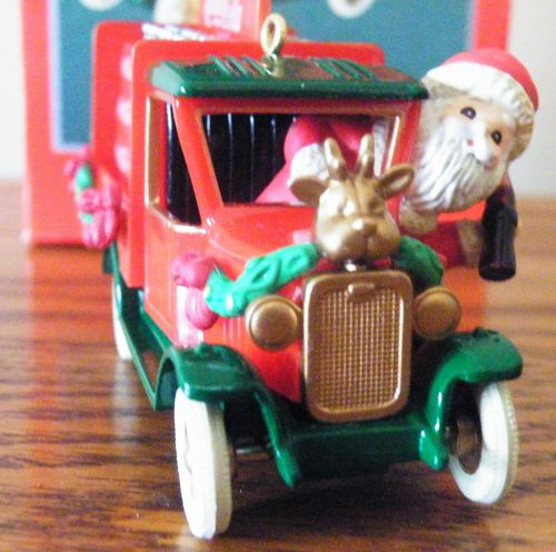 "A must have for the Coke Collector. New Enesco 1994 Santa driving Coke truck, ""On The Road with Coke"" ornament. A must have!!"