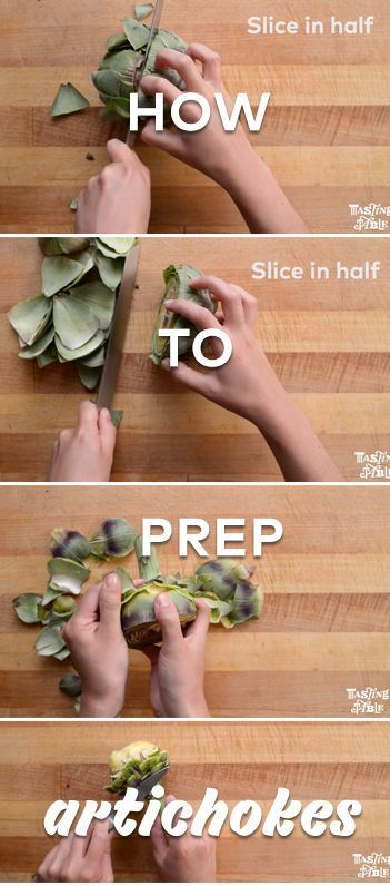 Prepping artichokes is easier than you think.
