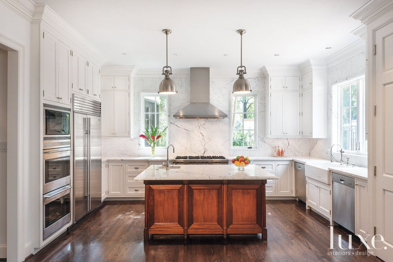 Vasquez Doubles Design The Custom Kitchen Island And Cabinetry From Vasquez