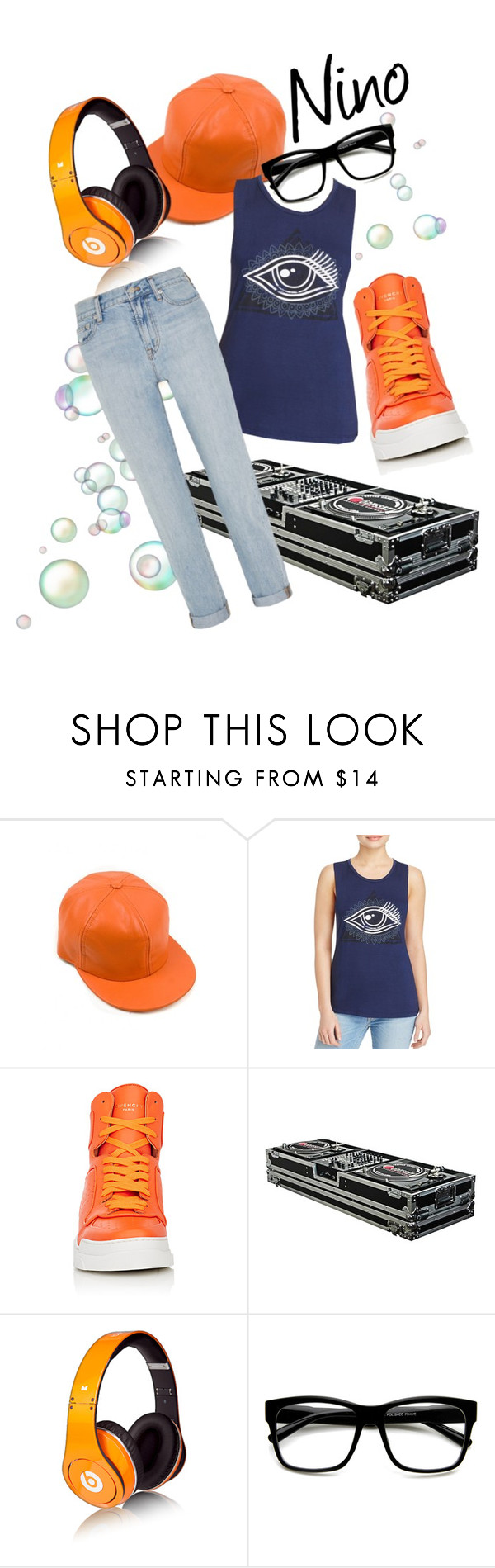 """""""Miraculous Ladybug: Nino"""" by original-reimagined ❤ liked on Polyvore featuring Knit Riot, Givenchy, Beats by Dr. Dre, ZeroUV and Madewell"""