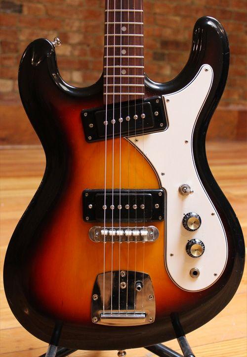A Brief History Of The Univox Hi Flier Guitar Guitar Vintage Electric Guitars Guitar Design