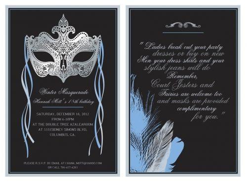 Entry 23 Card or invitation design by Kat Berg – Birthday Invitation Designer