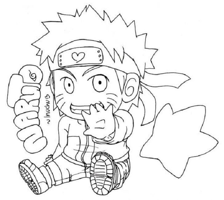 naruto coloring book pages anime pinterest colour book