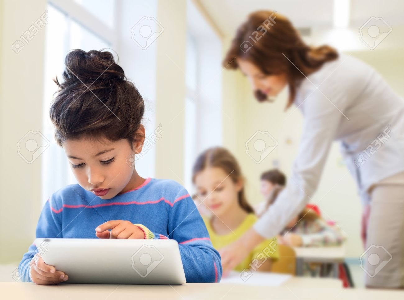 Education Elementary School Technology And Children