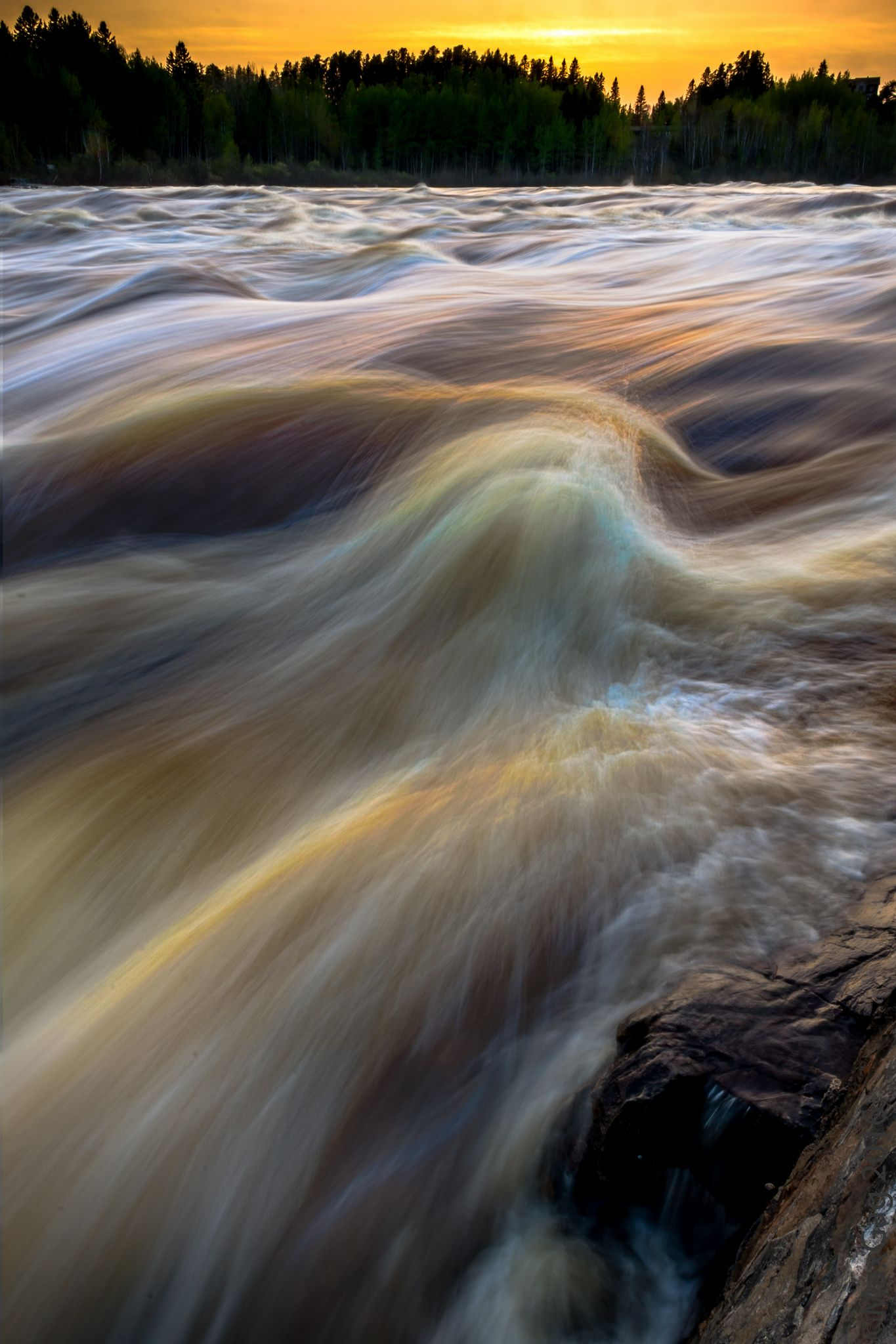 https://flic.kr/p/Hvrwj6 | Rivier Mistisibi rapids