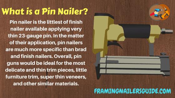 Pin Nailer Vs Brad Nailer Key Differences Explained By Experts In 2020 Brad Nailer Nailer Framing Nailers