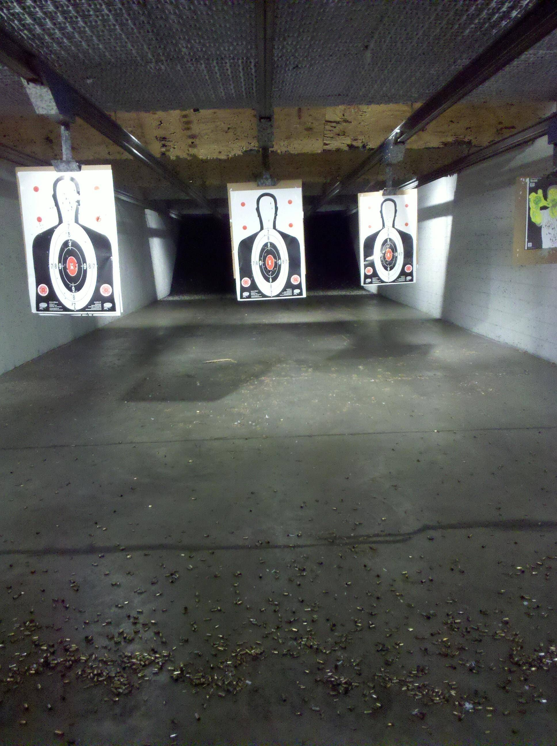 love a shooting range in my basement hidden somewhere farm