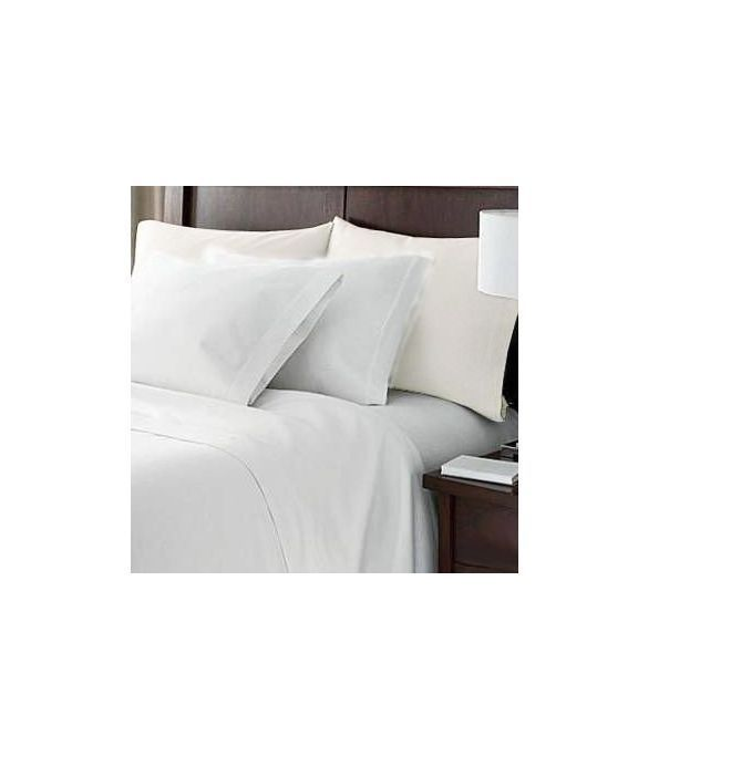 White Queen Hotel Luxury Bed Sheets Set 4 Deep Pocket 1800 Egyptian Cotton  NEW #HCCollection