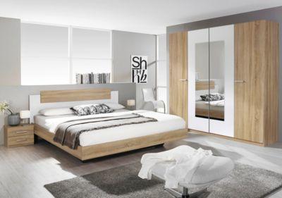 Schlafzimmer Set Mit Bett 160 X 200 Cm Eiche Sonoma Jetzt Bestellen Unter:  Https