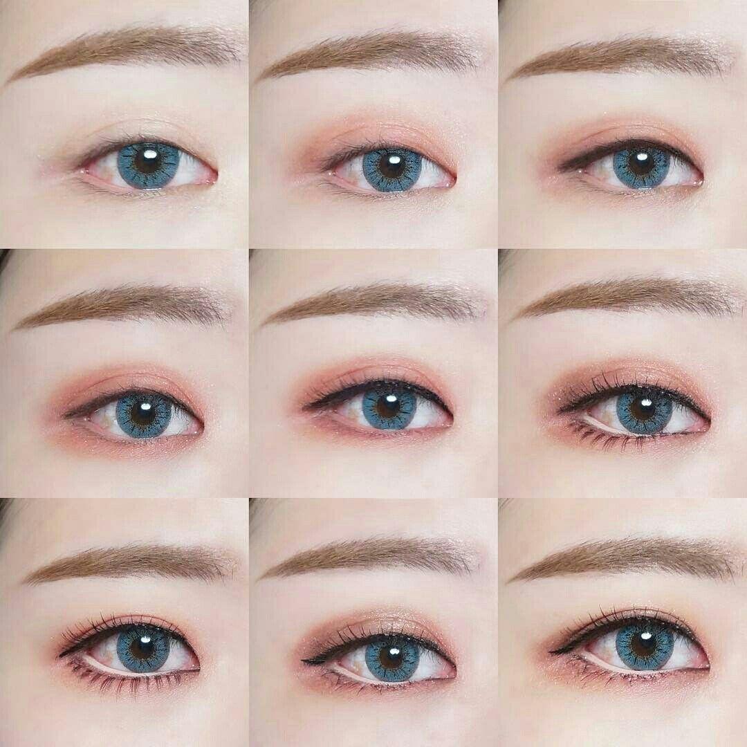 Pin by Jennifer Fang on korean makeup  Ulzzang makeup, Korean eye