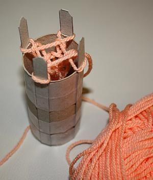 Strickliesel selber basteln werken strickliesel basteln und stricken - Strickliesel selber machen ...