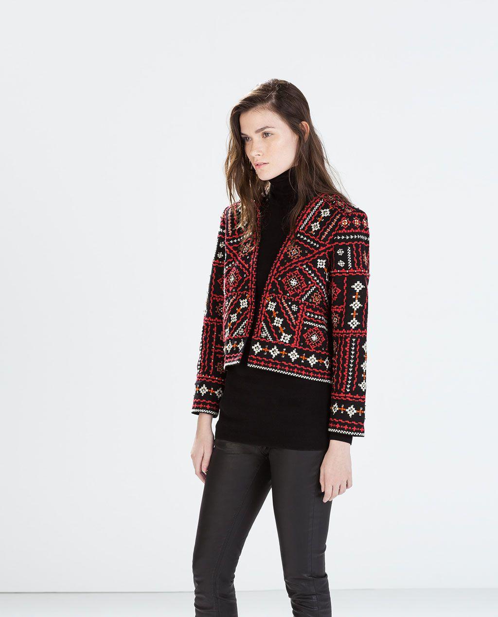 Image 41 de VESTE BRODERIE STYLE ETHNIQUE de Zara | style ... - Style Ethnique