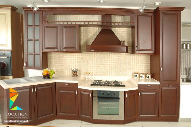 مطابخ خشب صغيرة 2018 2019 لوكشين ديزين نت Kitchen Redecorating Kitchen Design Kitchen Cabinets
