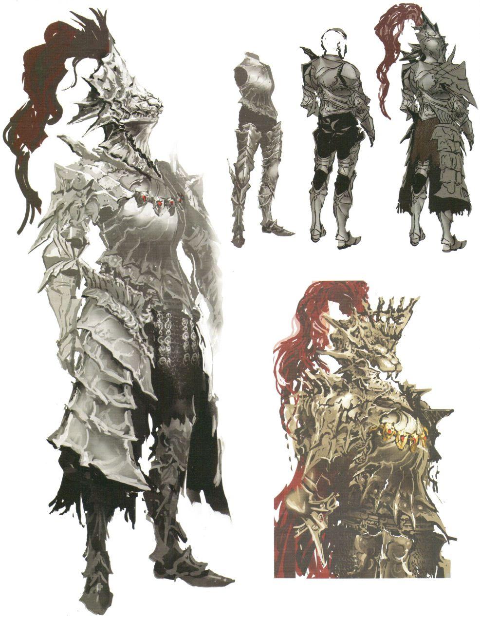 Dragon Slayer Ornstein from Dark Souls