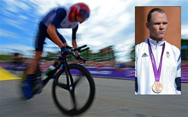 Today he labours in the shadows of the greatest cyclist the country has ever known, but bronze medallist Chris Froome could represent a golden future for Britain.