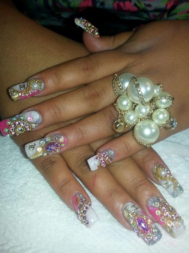 Stunning Nails! Student work done at our campus in San