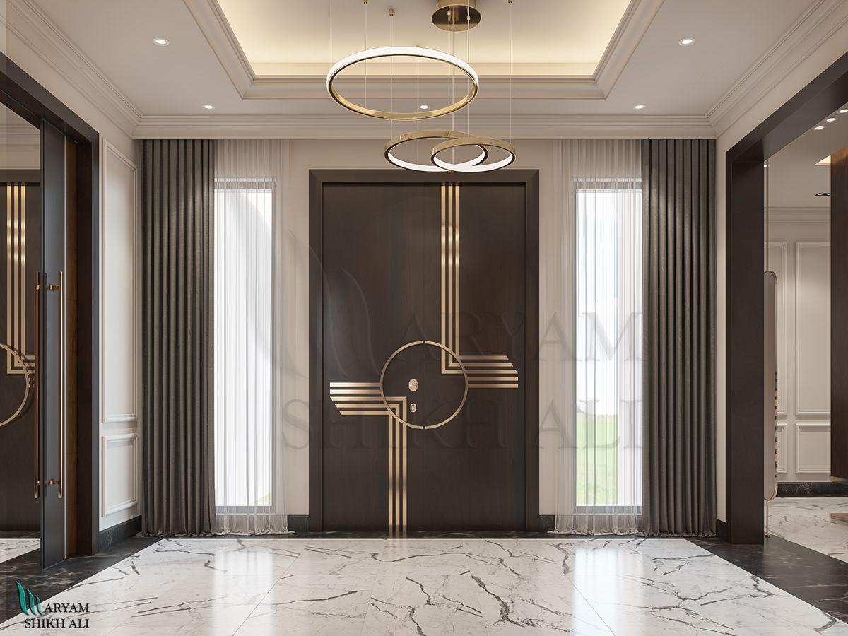 villa entrance (Apamia) Dubai
