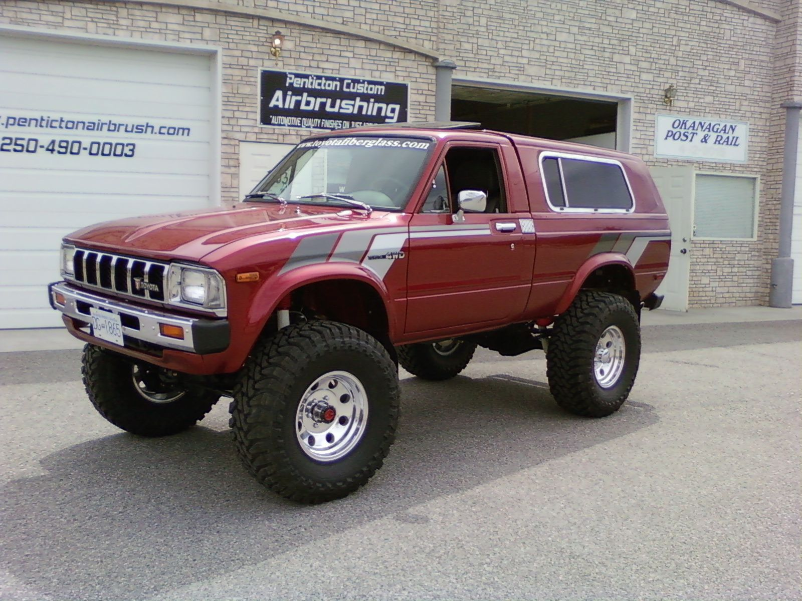 The original 4runner called the Toyota Trekker wish I had one