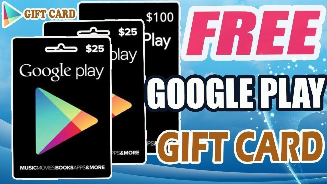 Pin On Google Play Gift Card