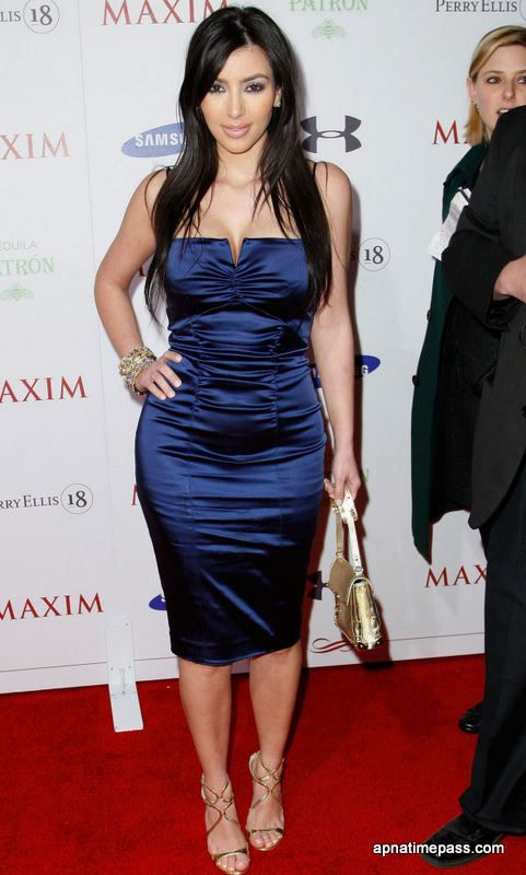 Kim Kardashian Photos in Blue Dress #11 | KK Closet | Pinterest ...