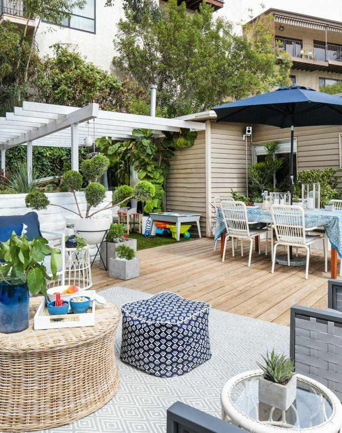 Terrasse Gestalten Terrassengestatung Ideen Terrasse Einrichten