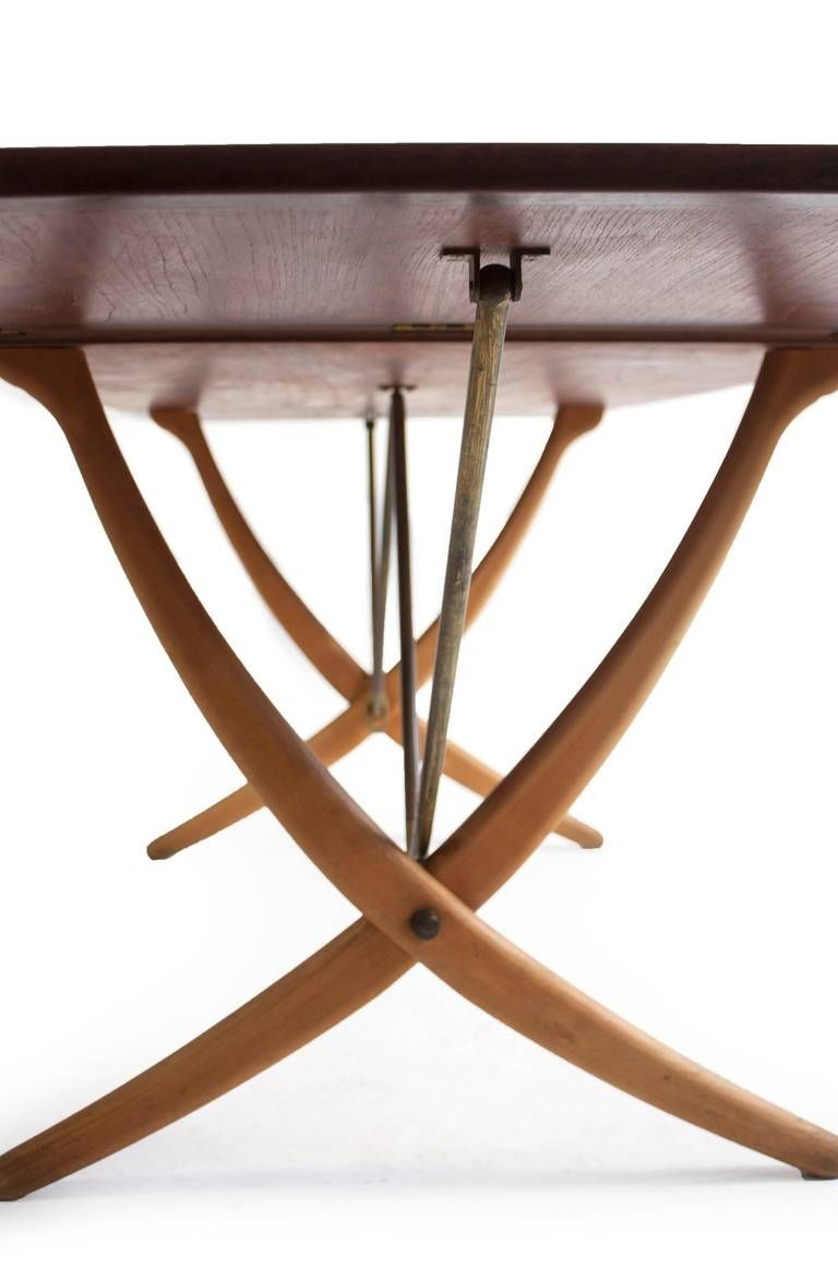 Wegner Sabre Leg Table, AT-304, Andreas Tuck   Dining room table ...