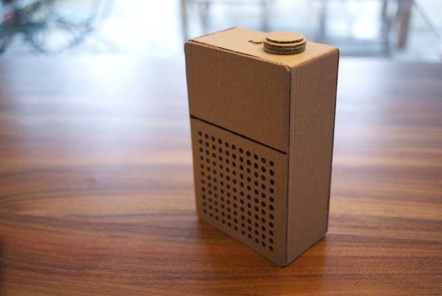 Audio player prototype (170x105x55mm)