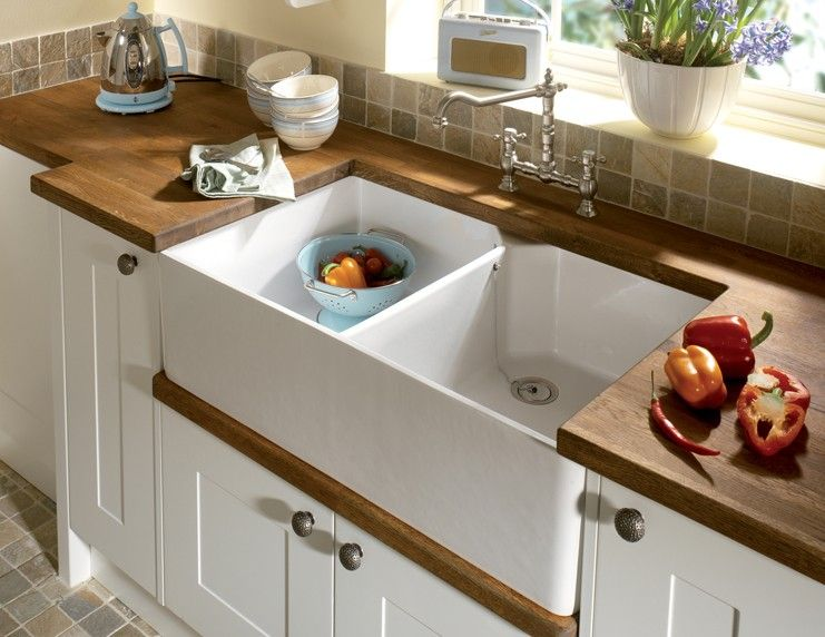 Image result for deep double belfast sink Kitchen Pinterest